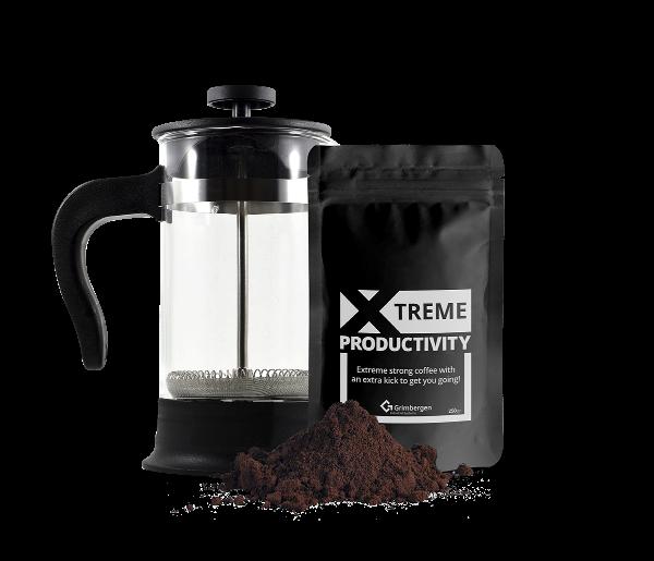 Gratis Grimbergen extreem sterke koffie aanvragen