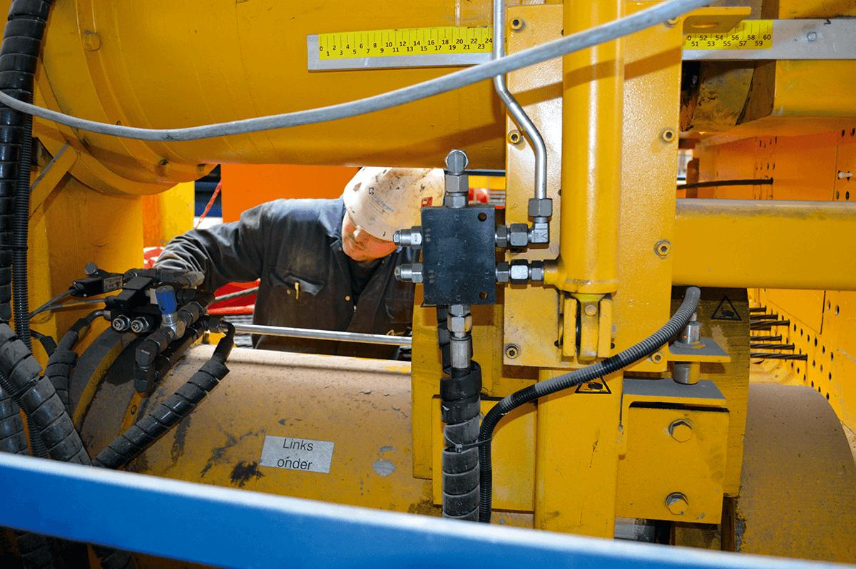 Service en Onderhoud aan uw machines - Grimbergen Industrial Systems